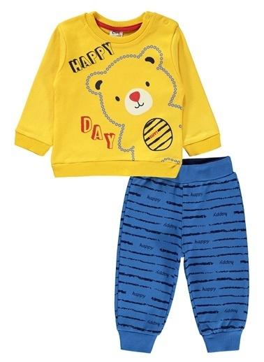 Civil Baby  Erkek Bebek Takım 6-18 Ay Hardal  Erkek Bebek Takım 6-18 Ay Hardal Hardal